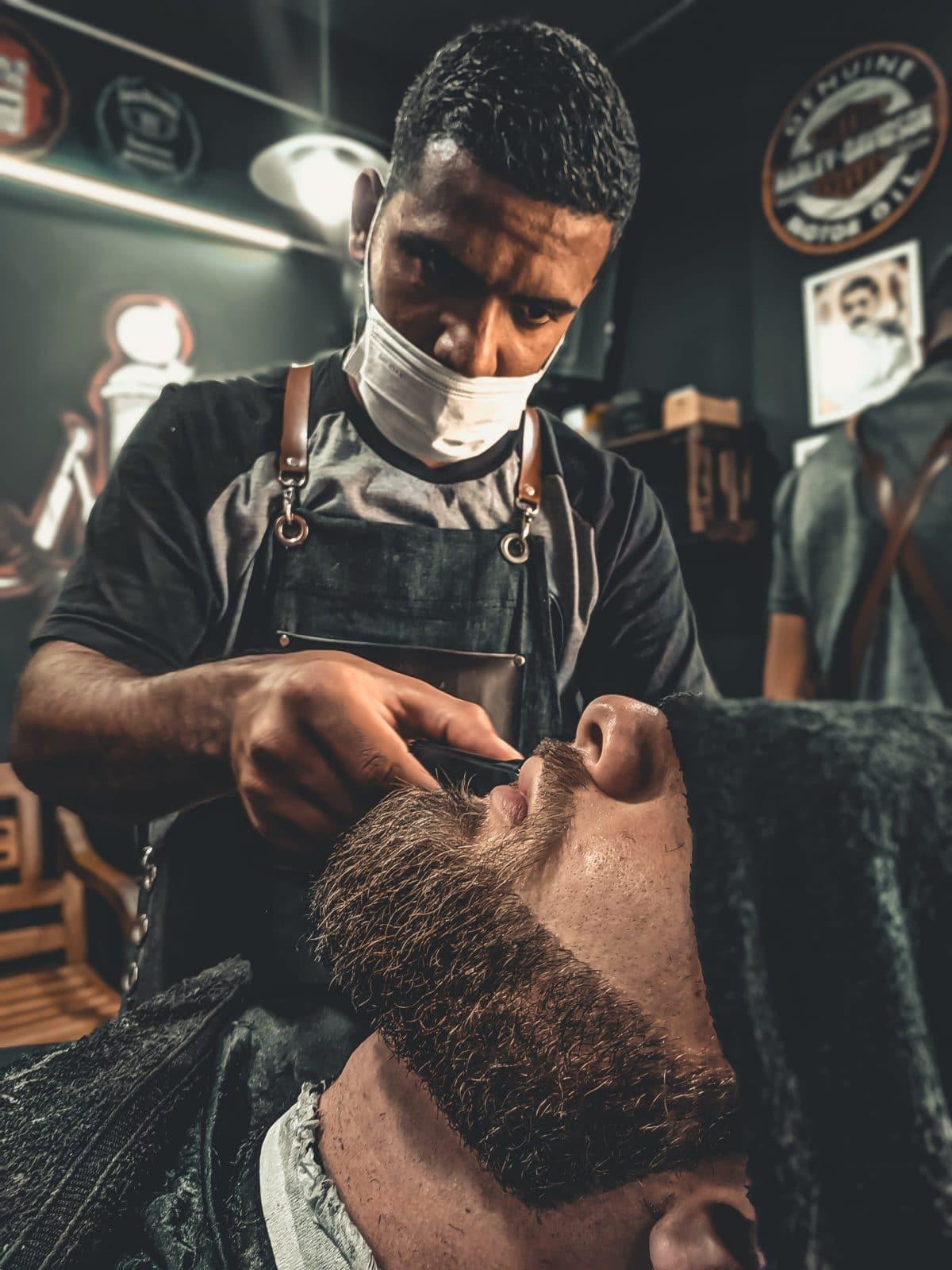 Perfilar la barba