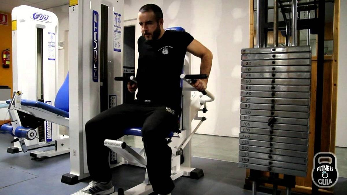 fondo triceps maquina