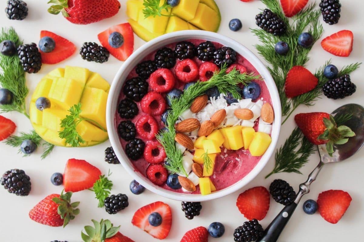 desayuno con almendras