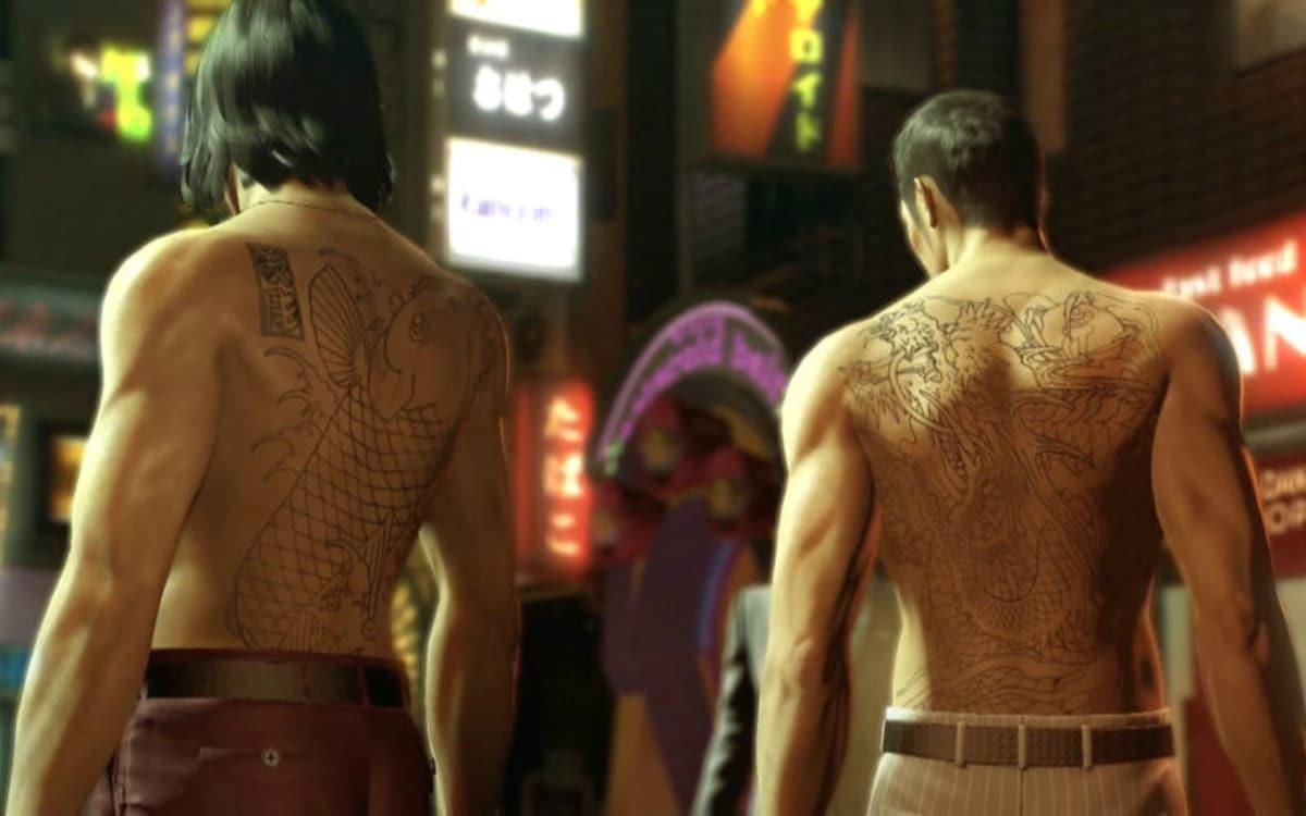 tatuajes de la mafia japonesa o Yakuza