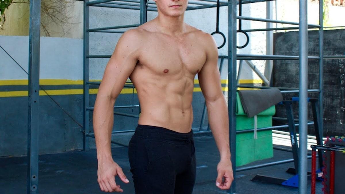 vientre plano en hombres con ejercicios