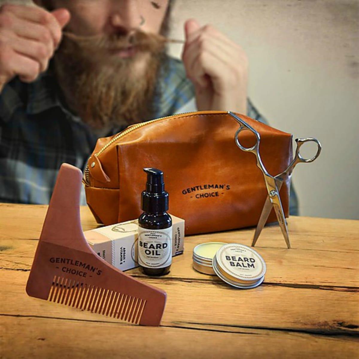 Kit para cuidar la barba
