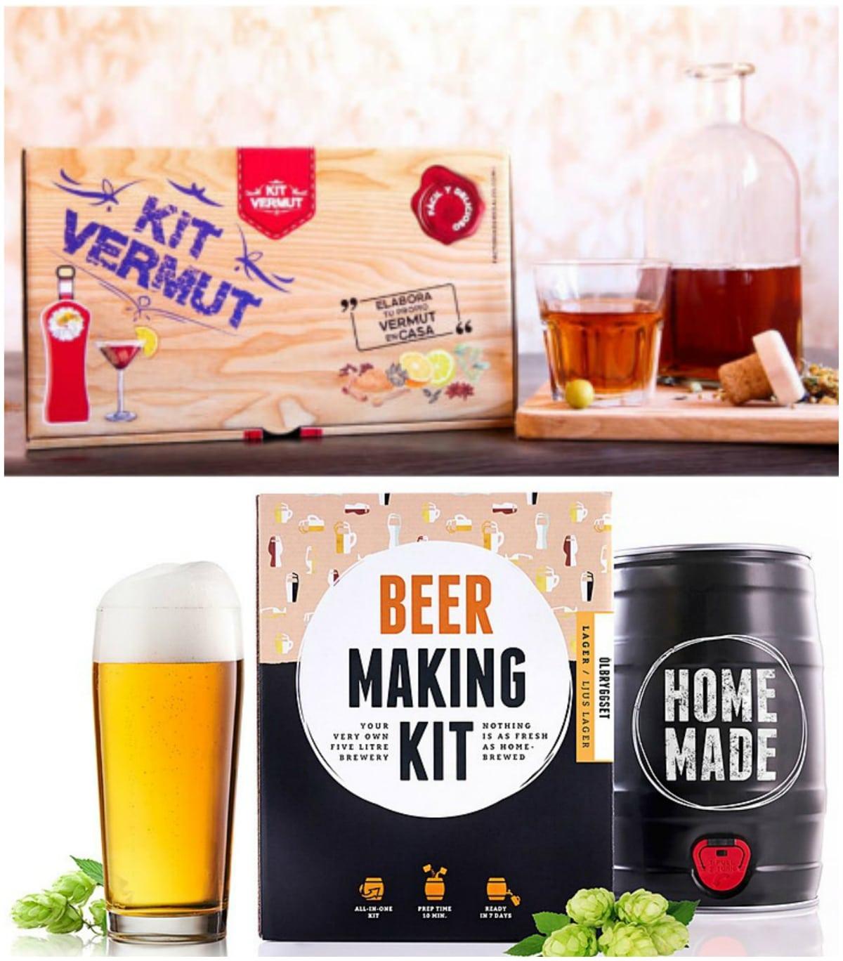 Kit para elaborar tu propio vermut o cerveza artesana