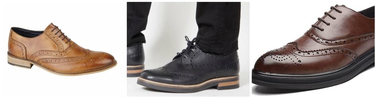 Zapato brogue