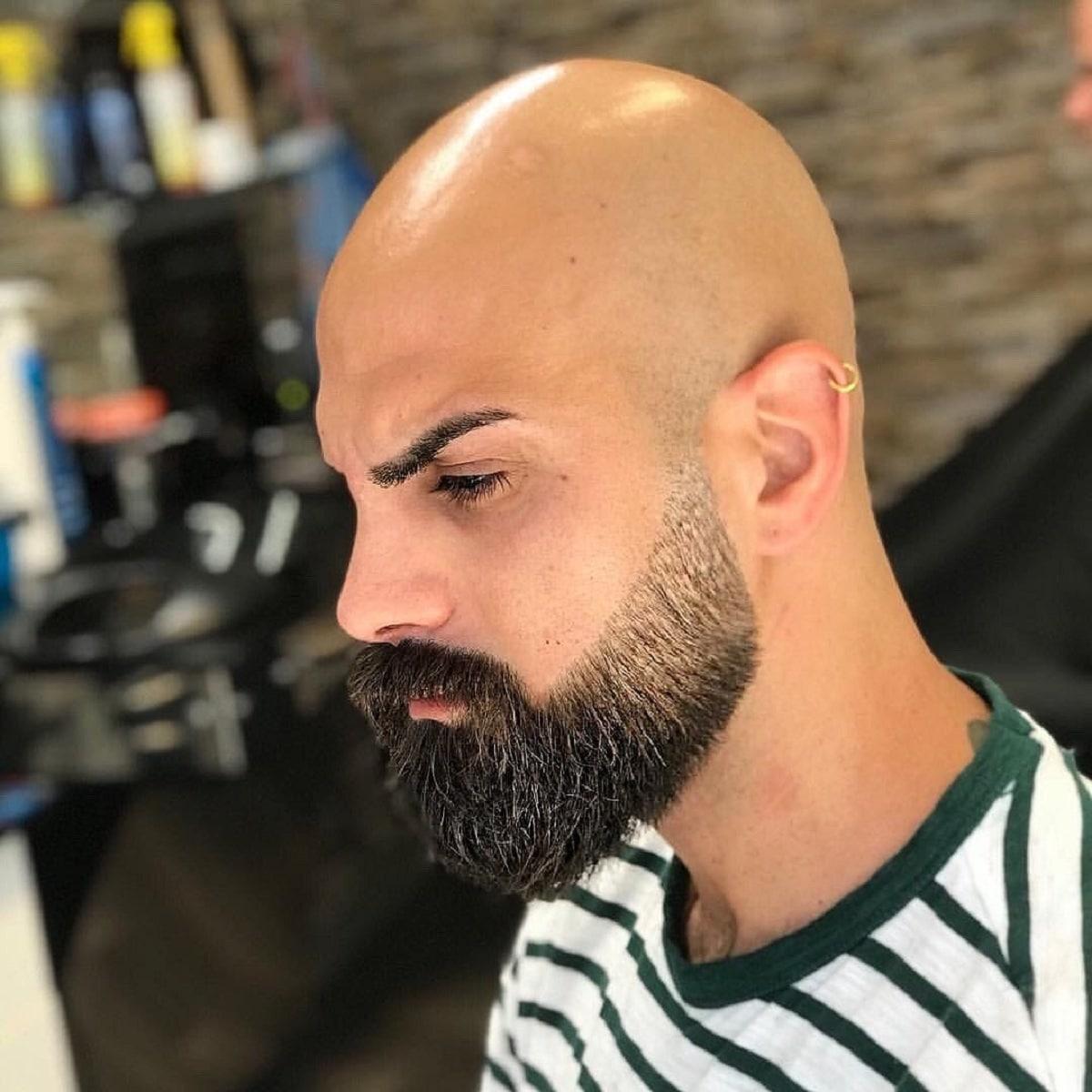 afeitado completo