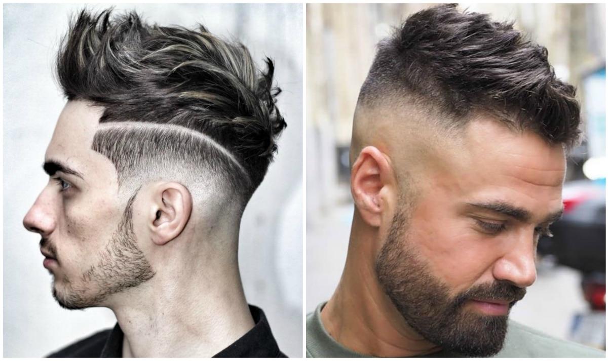 peinados con cresta