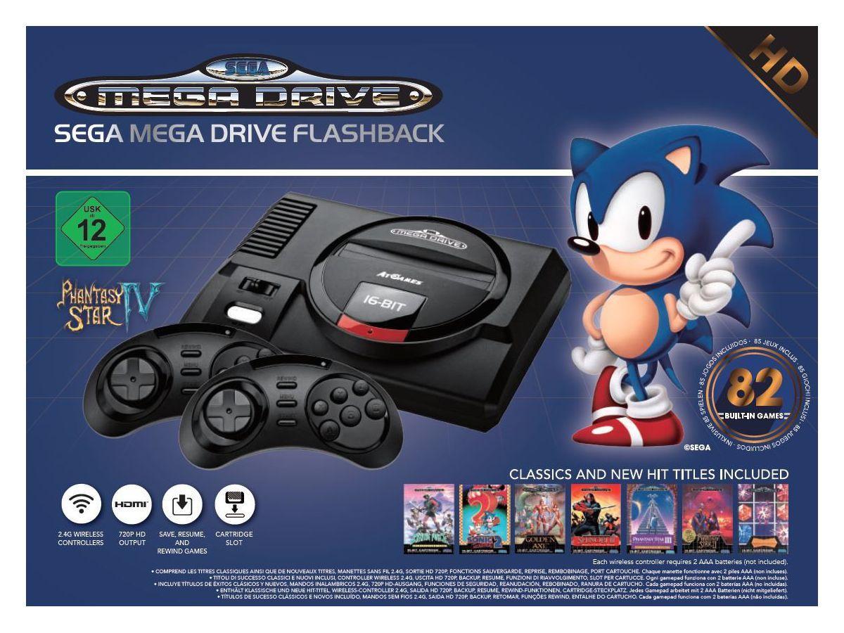 Mega Drive Wireless HD
