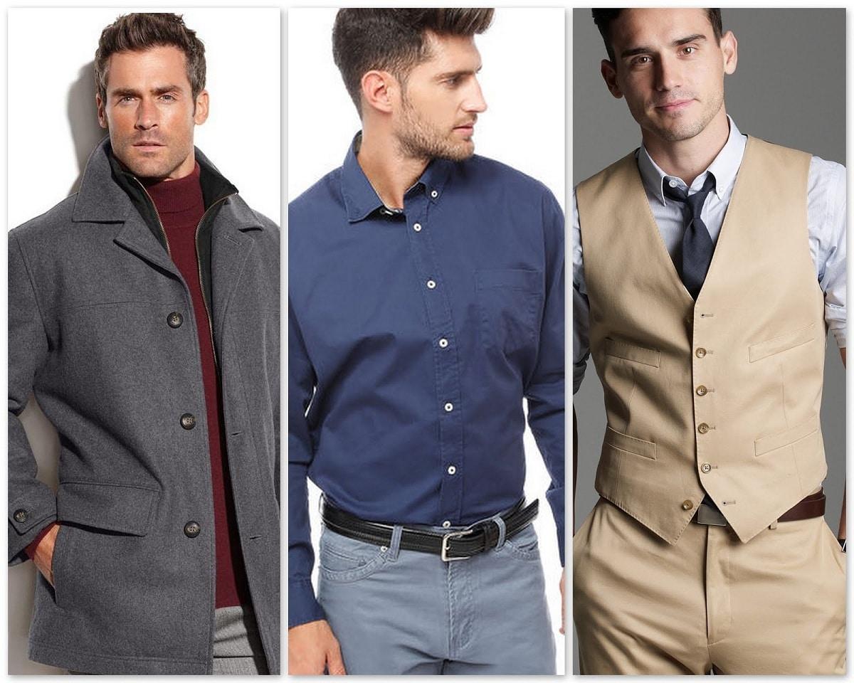 tipos de chaquetas de hombre
