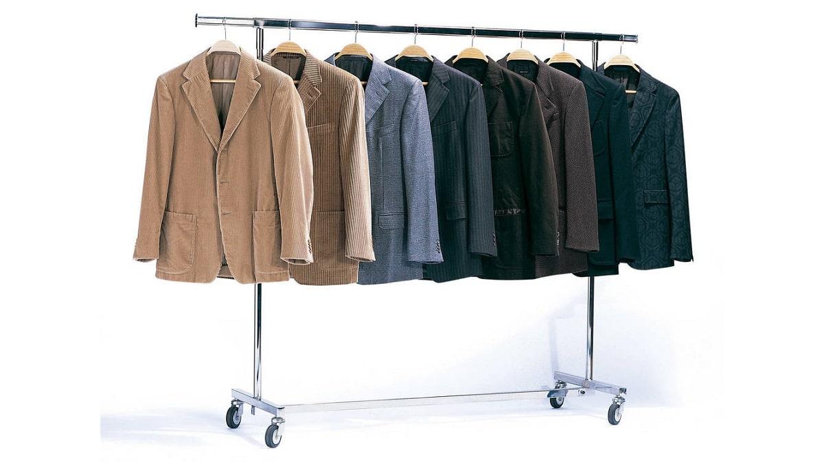 variedad de chaquetas