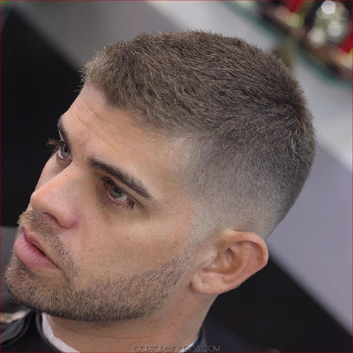 variedad de cortes de pelo para calvos