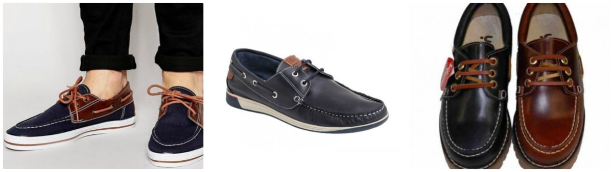 Zapatos nauticos