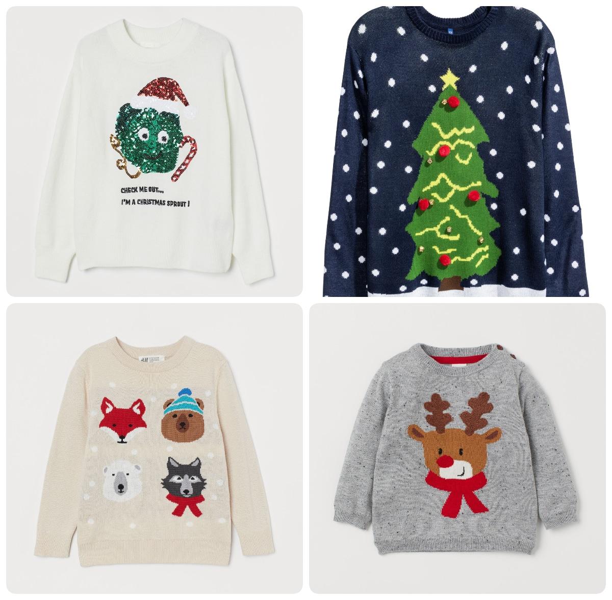 Jerséis navideños para toda la familia