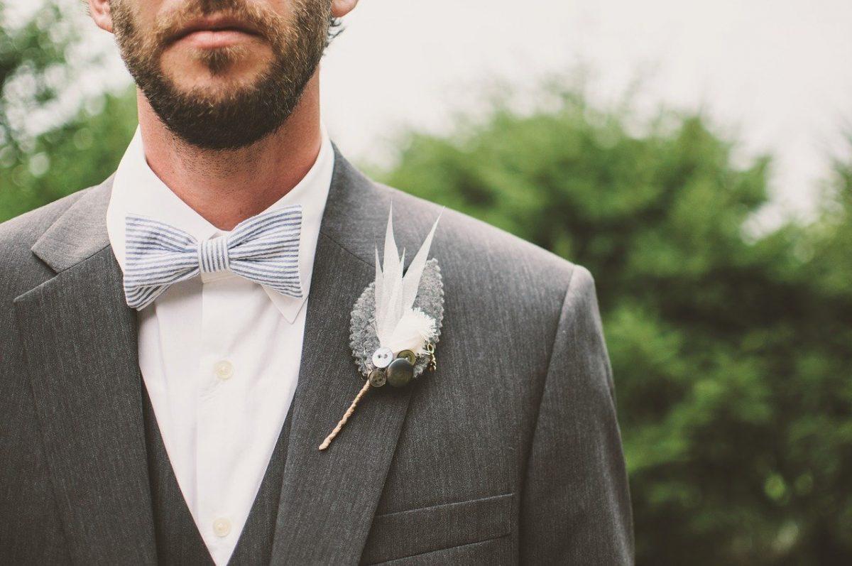 Corbata de lazo o pajarita