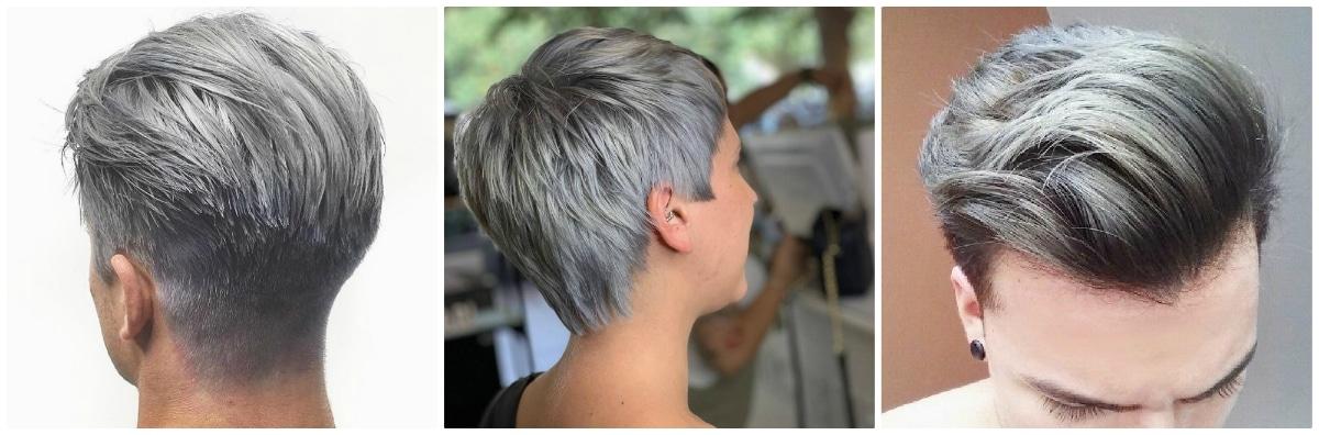 Pelo gris ceniza