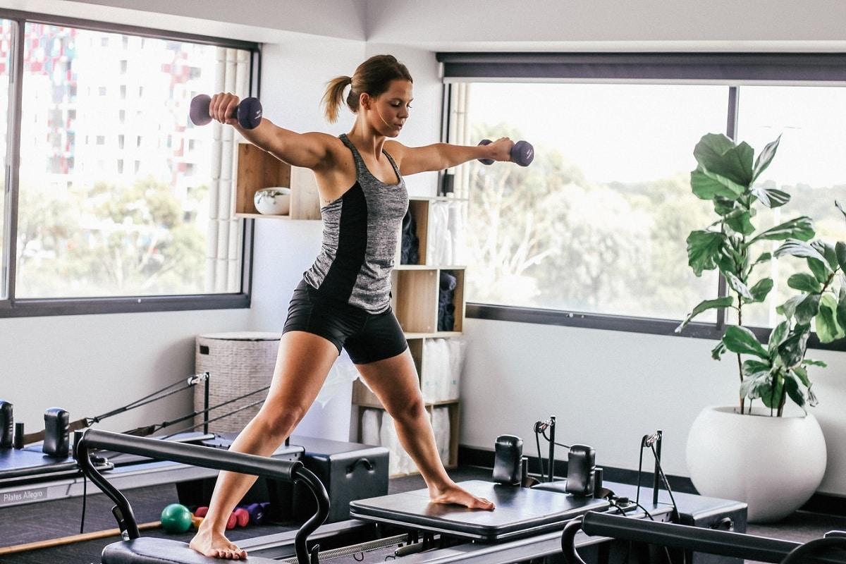accesorios para un gym en casa