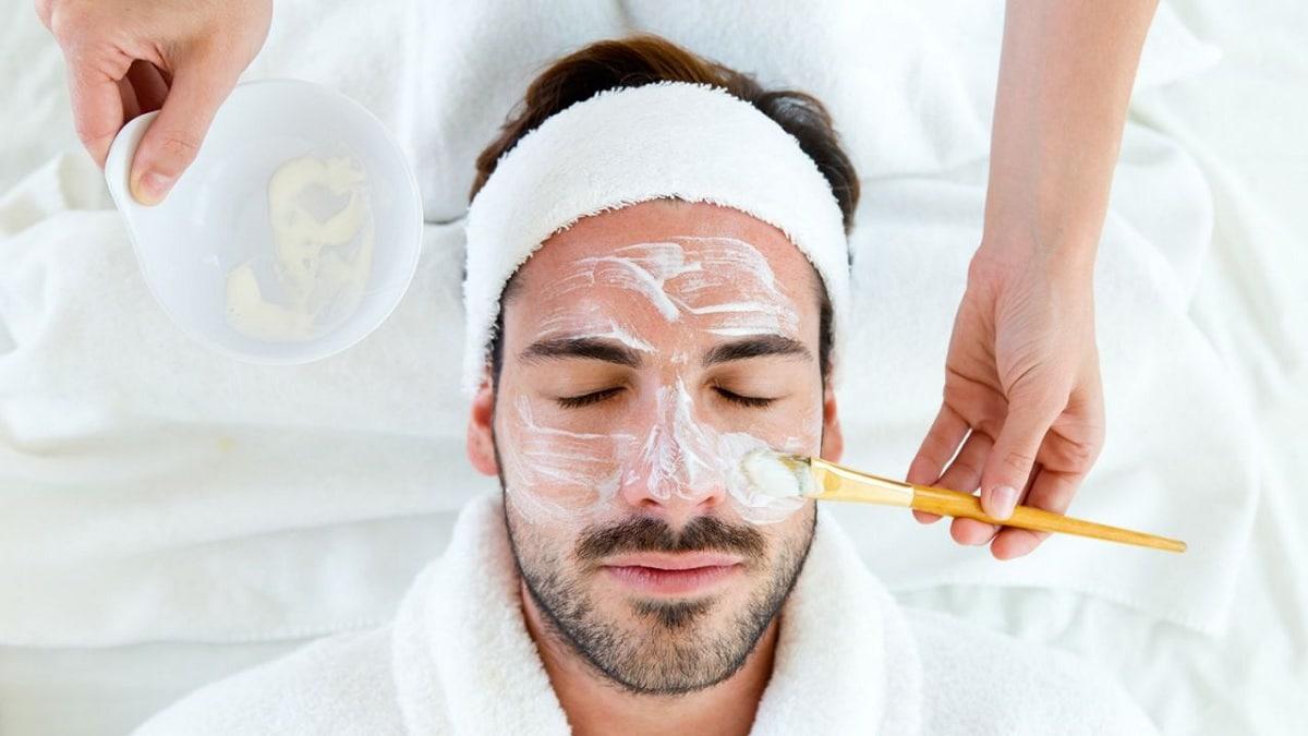 limpieza facial en hombres