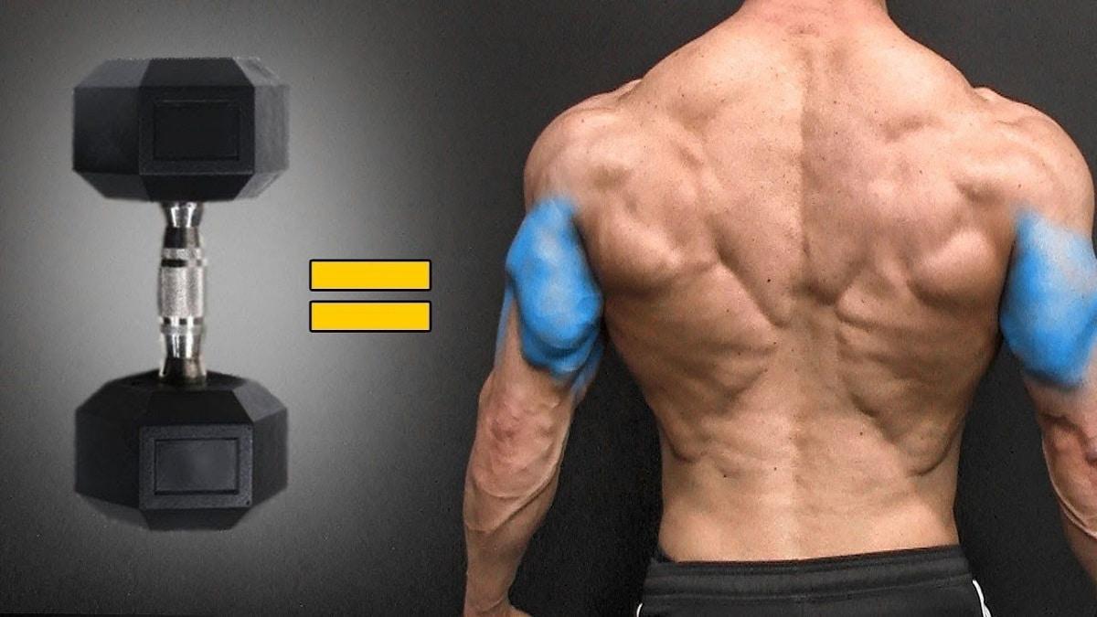 mejorar el triceps con mancuernas