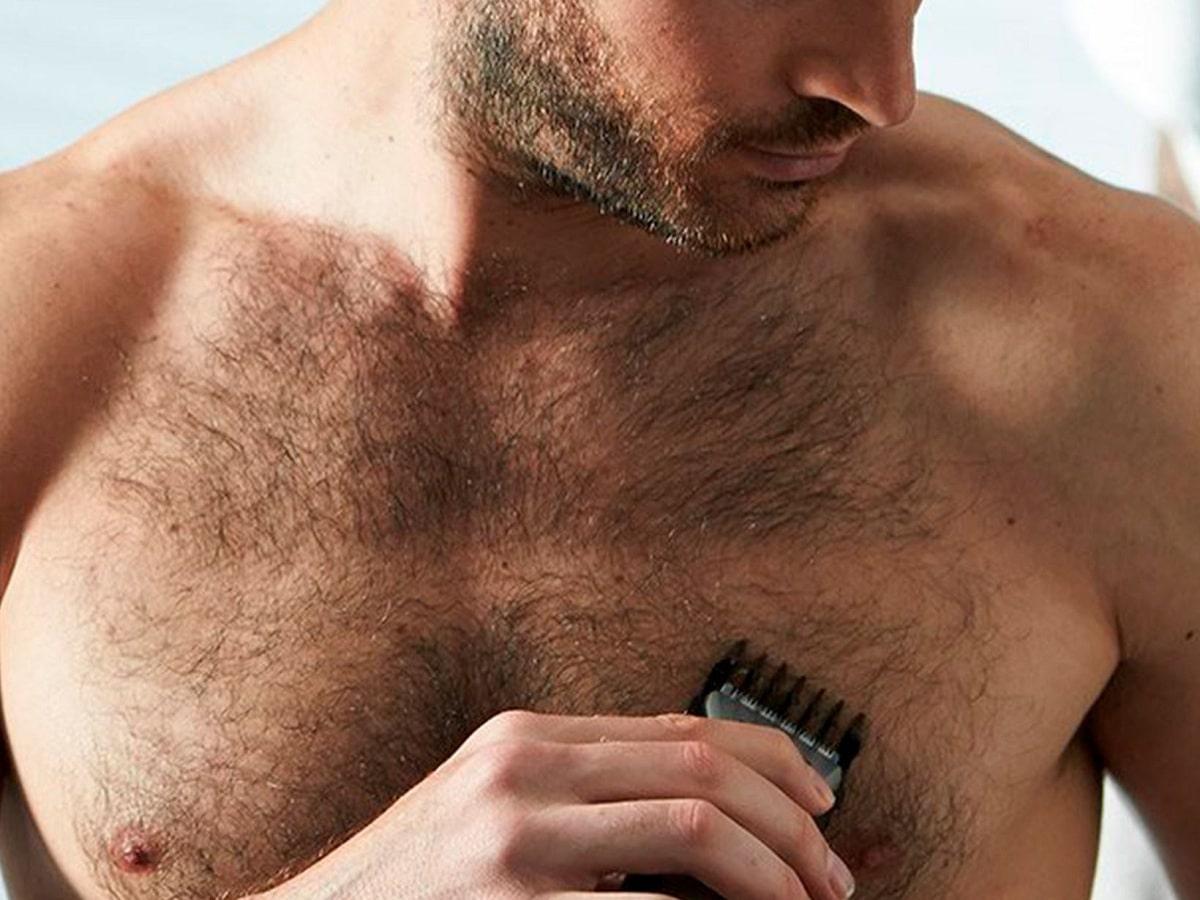depilarse el pecho