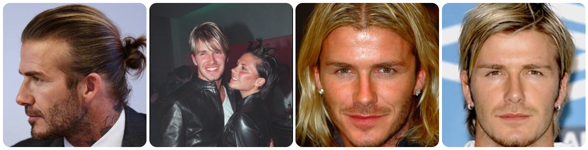 Los peinados de David Beckham
