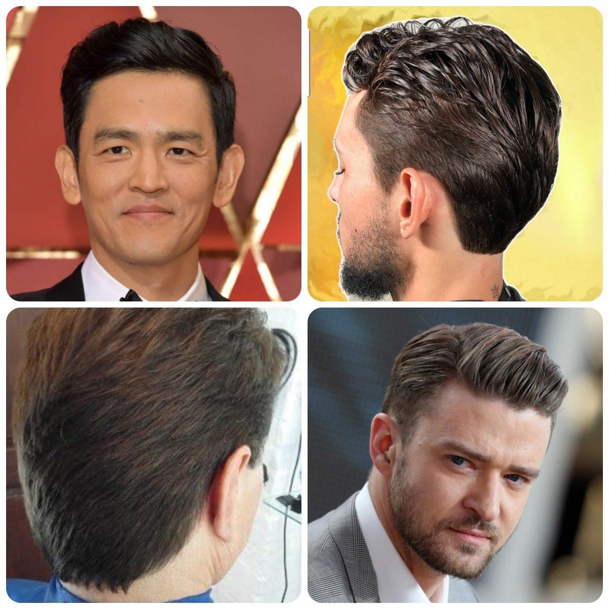 Peinado clásico de corte a tijera