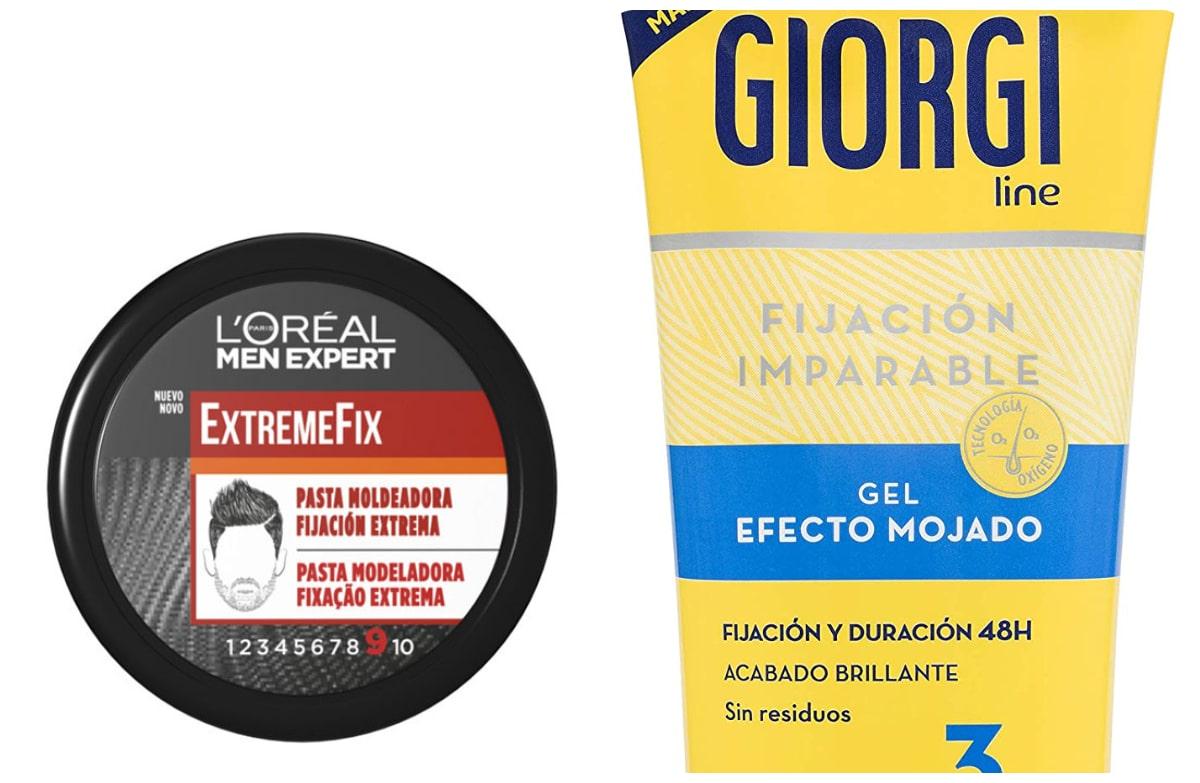 Productos para fijar el peinado