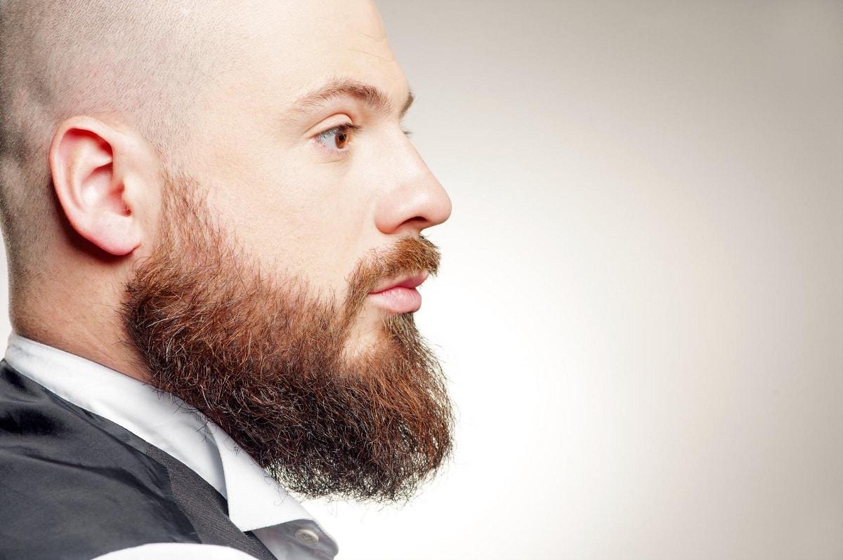 barba mal cuidada