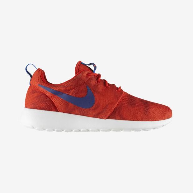Nike Roshe Rojas Y Blancas