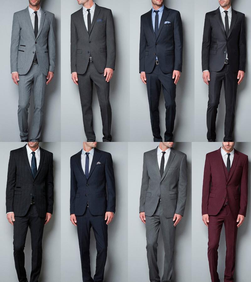 5 reglas para combinar corbata camisa y traje for Colores que combinan con gris claro