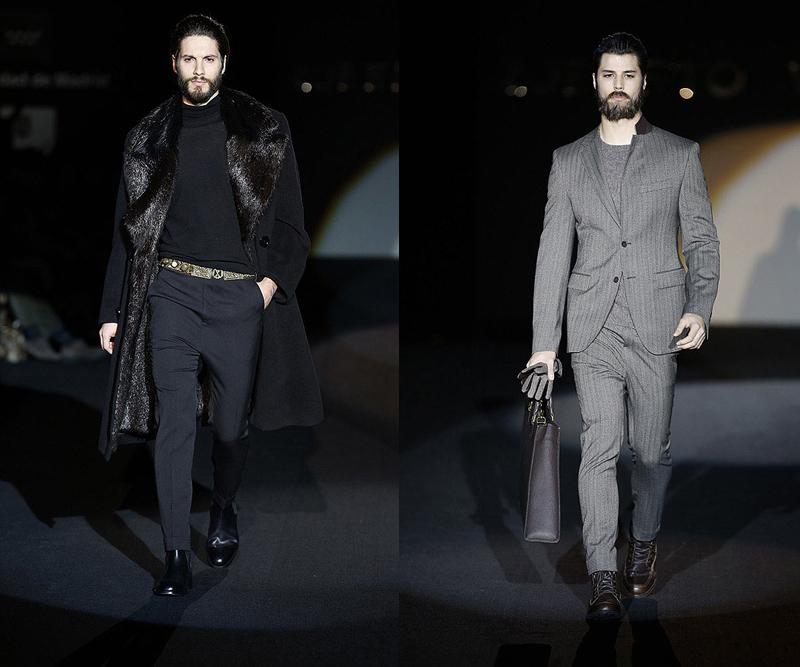 verino2 Mercedes Benz Fashion Week Madrid: Roberto Verino otoño invierno 2013 2014, elegancia sobre la pasarela