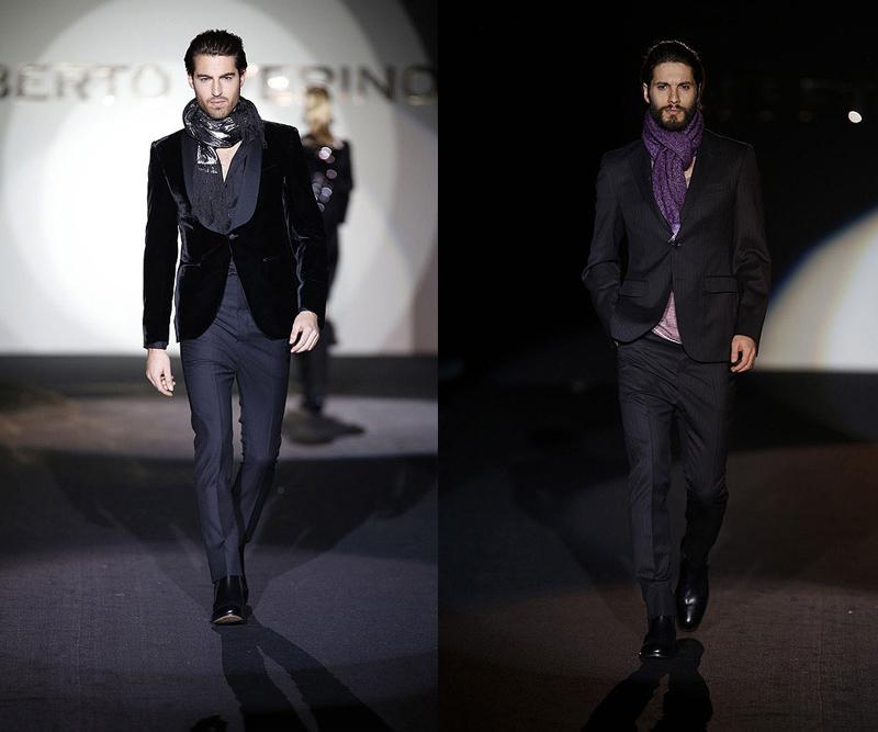 verino4 Mercedes Benz Fashion Week Madrid: Roberto Verino otoño invierno 2013 2014, elegancia sobre la pasarela